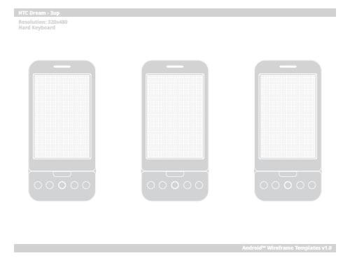 Free Printable Sketching, Wireframing and Note-Taking PDF Templates