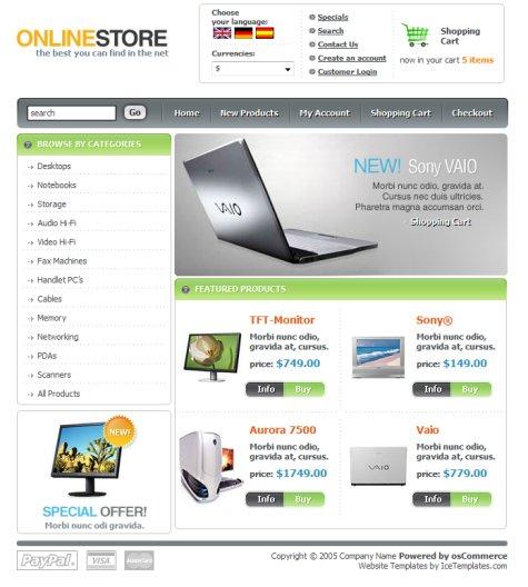 store template free - Goalgoodwinmetals