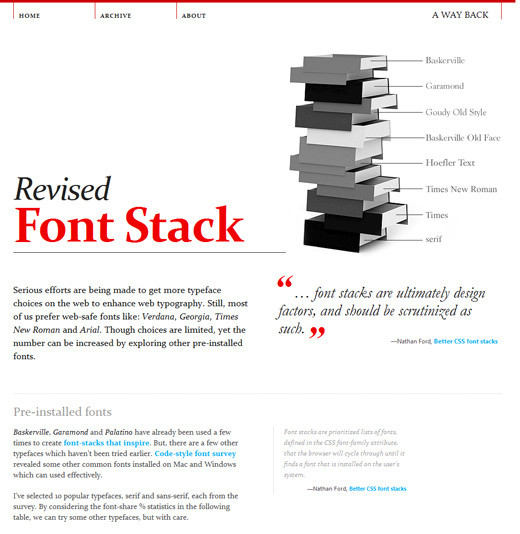 The Current State of Web Design Trends 2010 u2014 Smashing Magazine - how your resume should look
