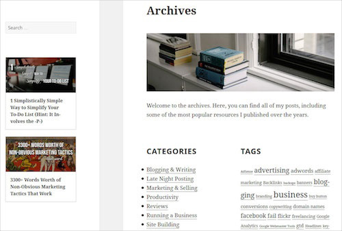 How To Build A Custom WordPress Archive Page \u2014 Smashing Magazine