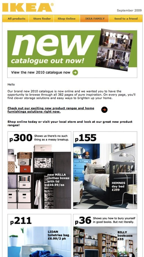 Email Newsletter Design Guidelines And Examples \u2014 Smashing Magazine