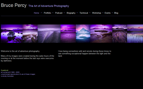 35 Beautiful Photography Websites \u2014 Smashing Magazine