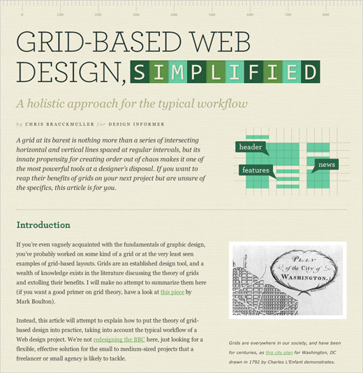 The Current State of Web Design Trends 2010 u2014 Smashing Magazine - good resume design