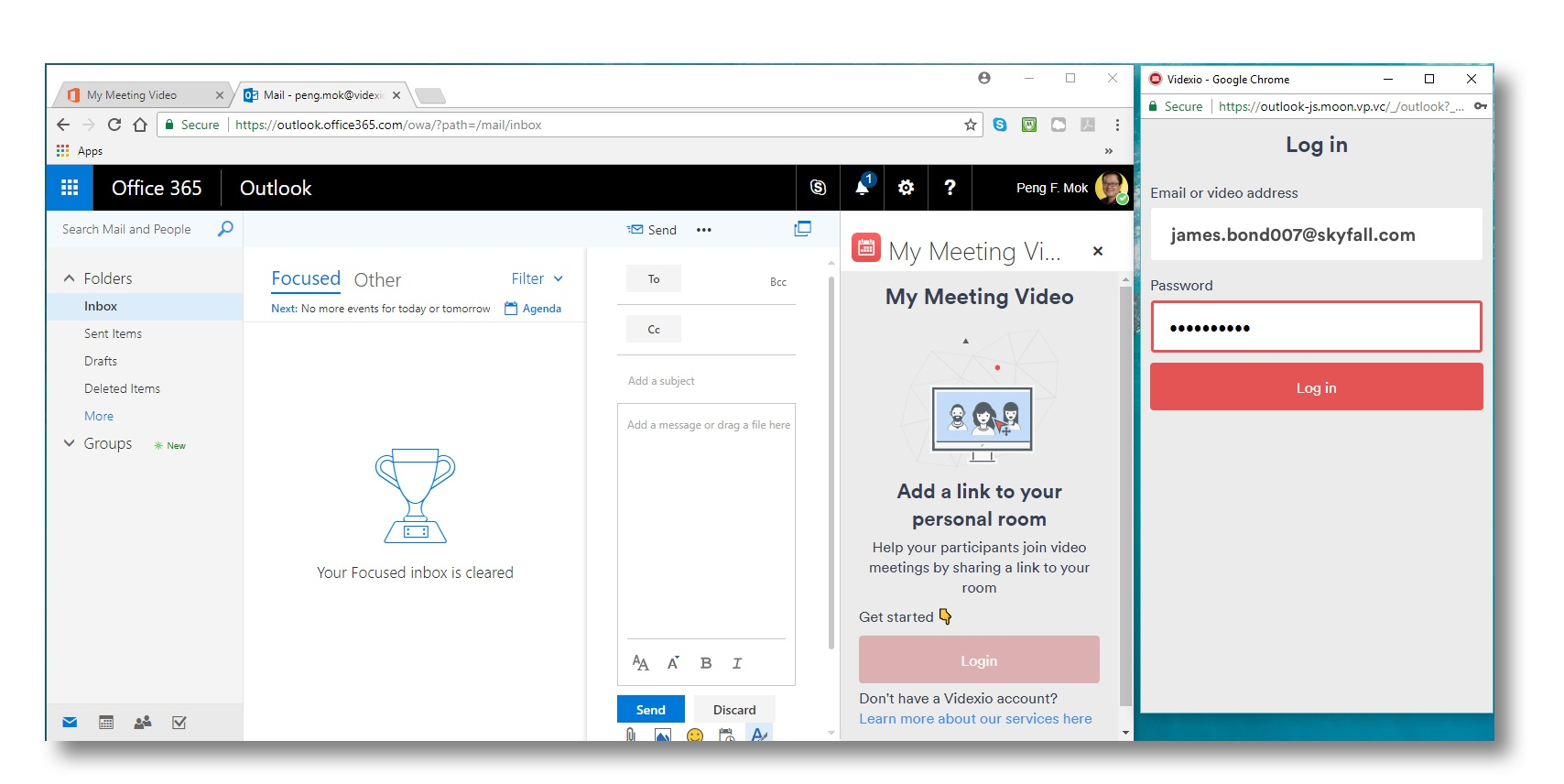 Videxio Launches New App for Automated Scheduling with Outlook My