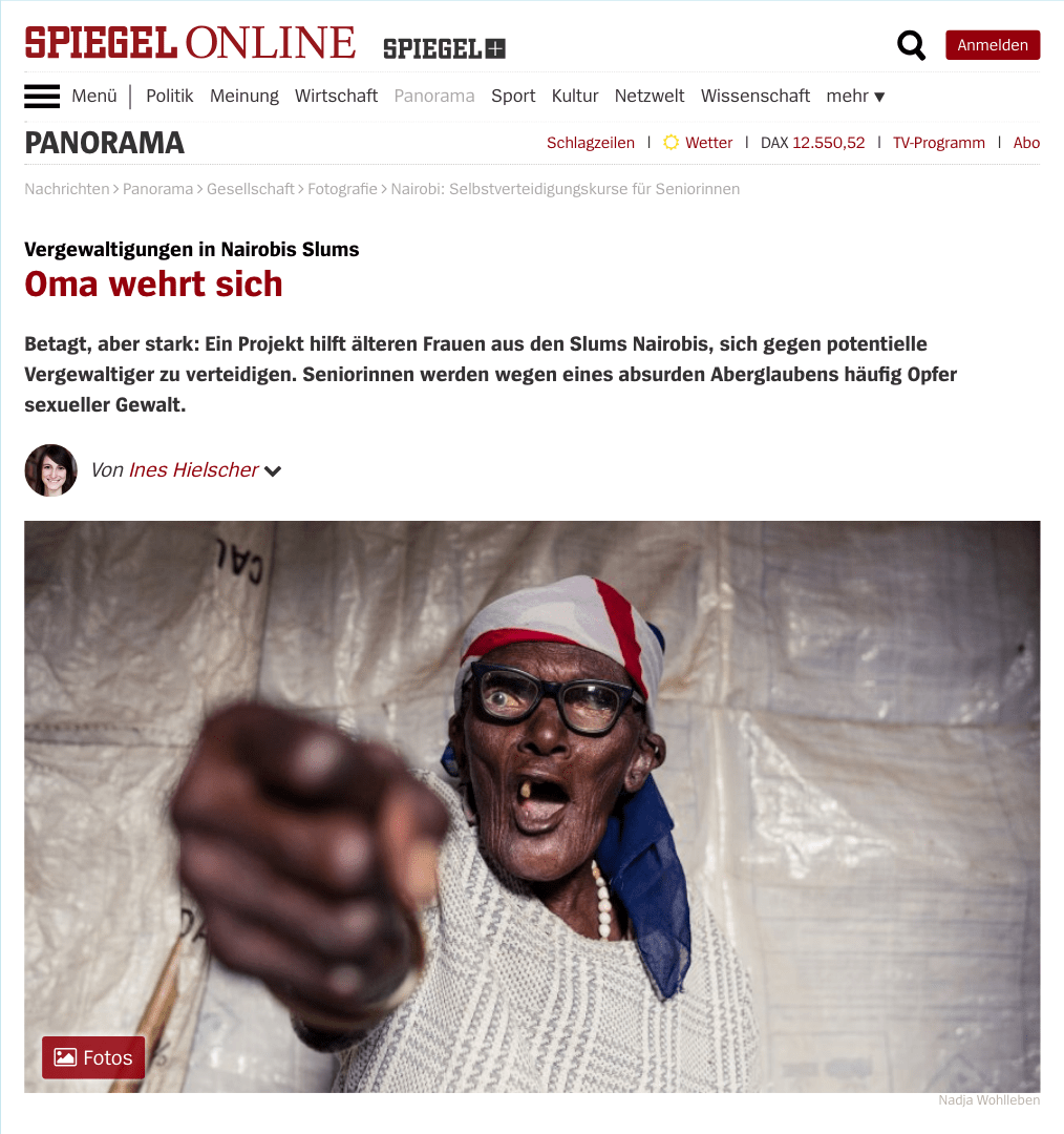 Spiehgel Online Shosho Jikinge Featured On Spiegel Online By Nadja Wohlleben