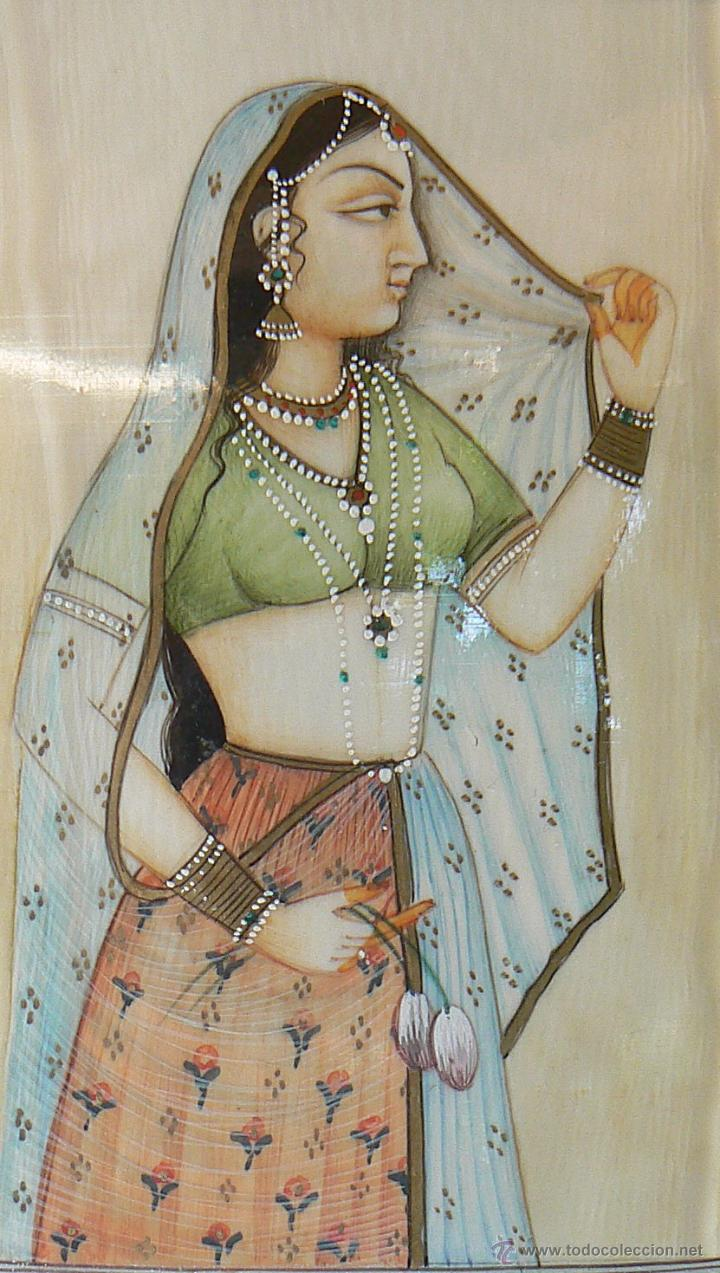 Pintura India Pintura Sobre Placa Marfil India Sold Through Direct Sale 54928894