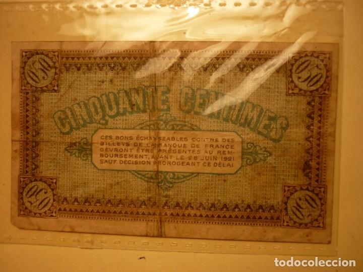 Billete 50 cts chambre de commerce de chalon su - Sold through - Chambre Du Commerce Chalon Sur Saone