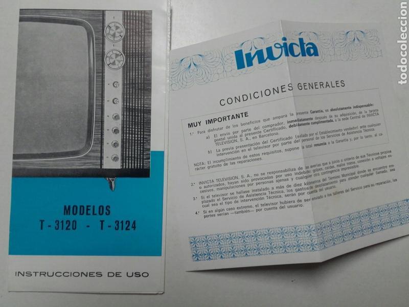 invicta, instrucciones de uso y certificado de - Comprar Catálogos - modelos de certificados