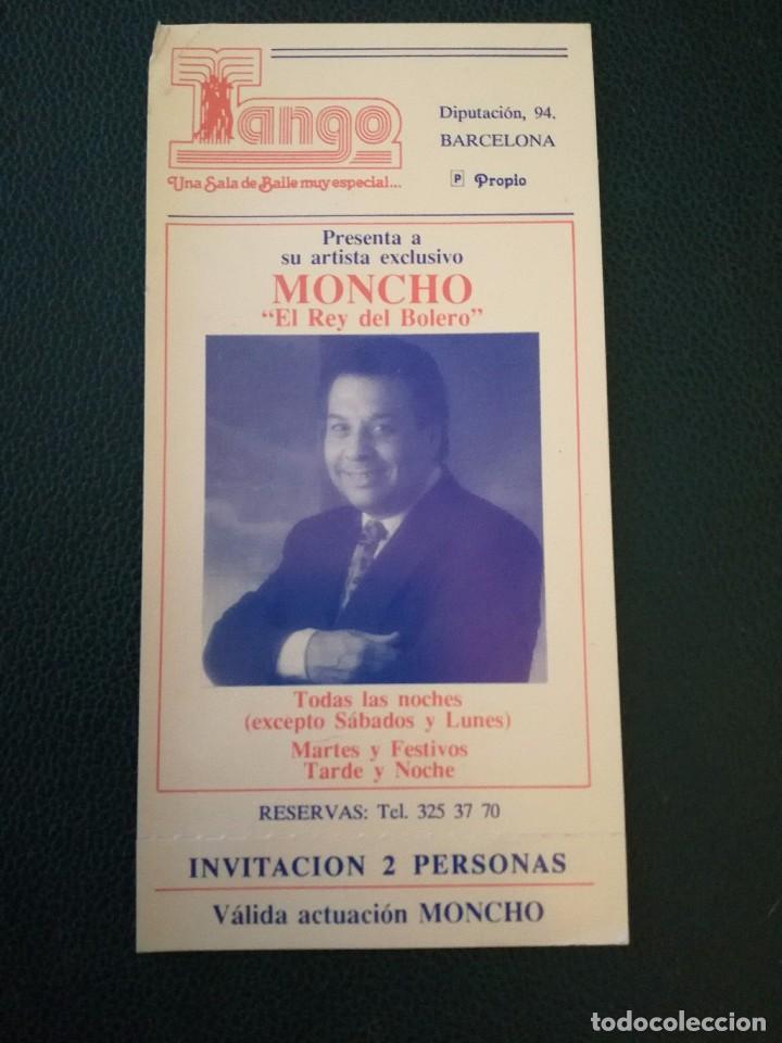 invitación moncho - Comprar Carteles antiguos pequeño formato en