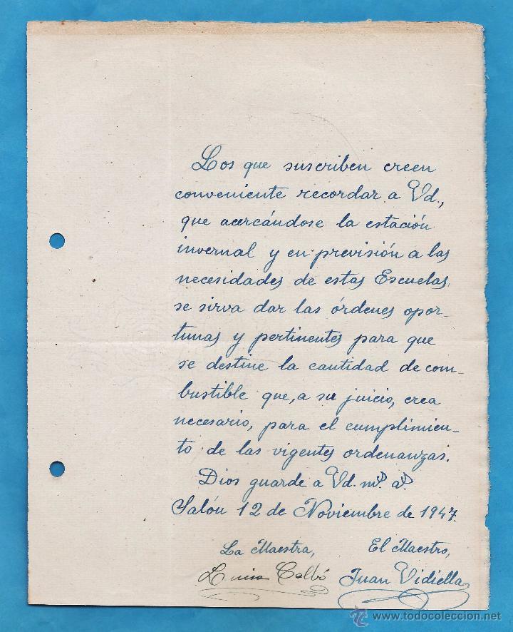carta solicitud subvencion calefaccion escuela - Comprar en