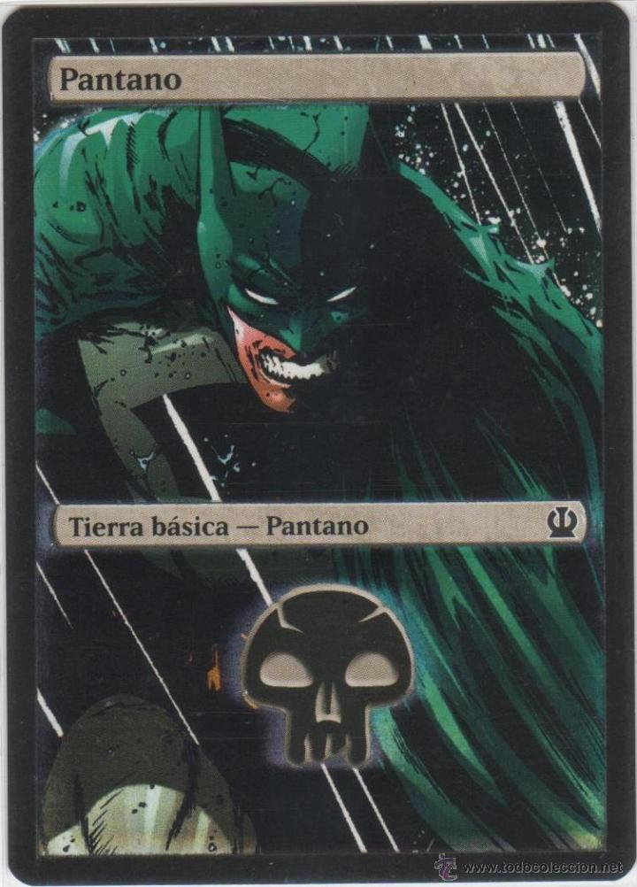 Libros Texto Online Mtg Magic The Gathering Pantano Swamp Tierra Bá - Comprar