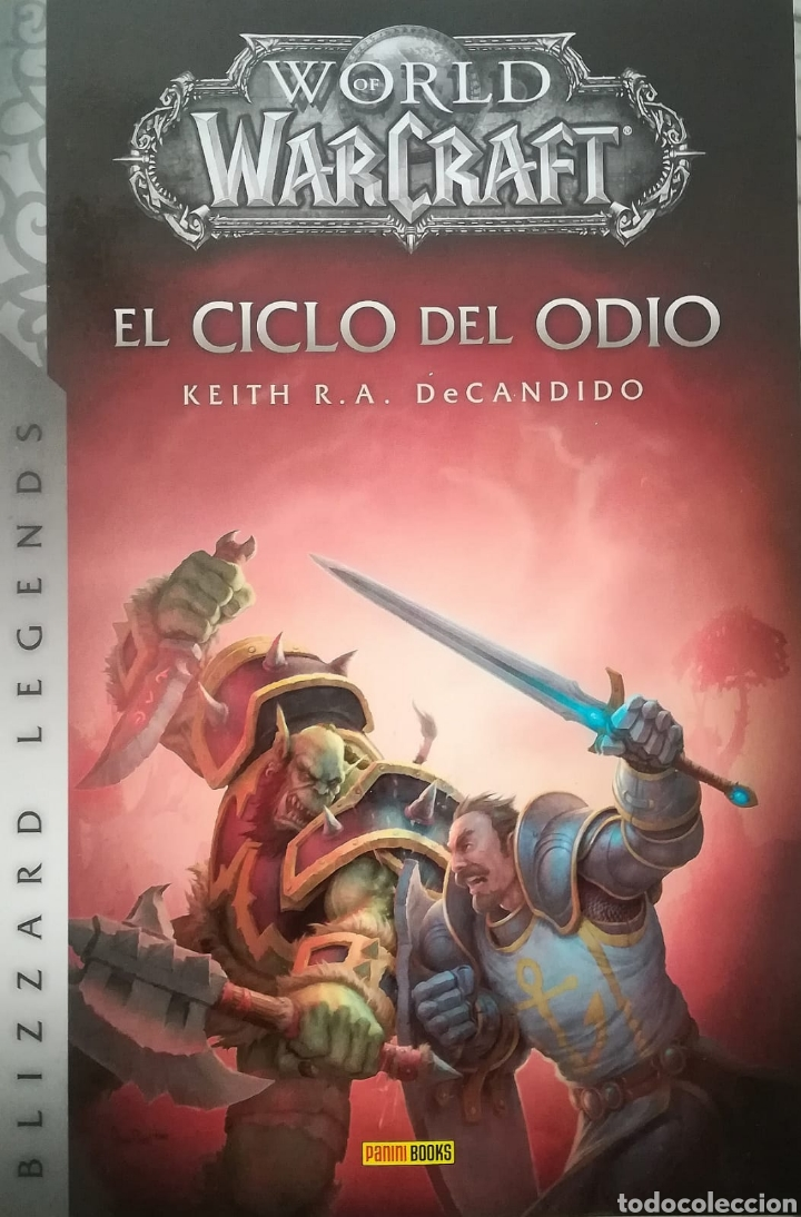 Descargar Libros Warcraft World Of Warcraft El Ciclo Del Odio