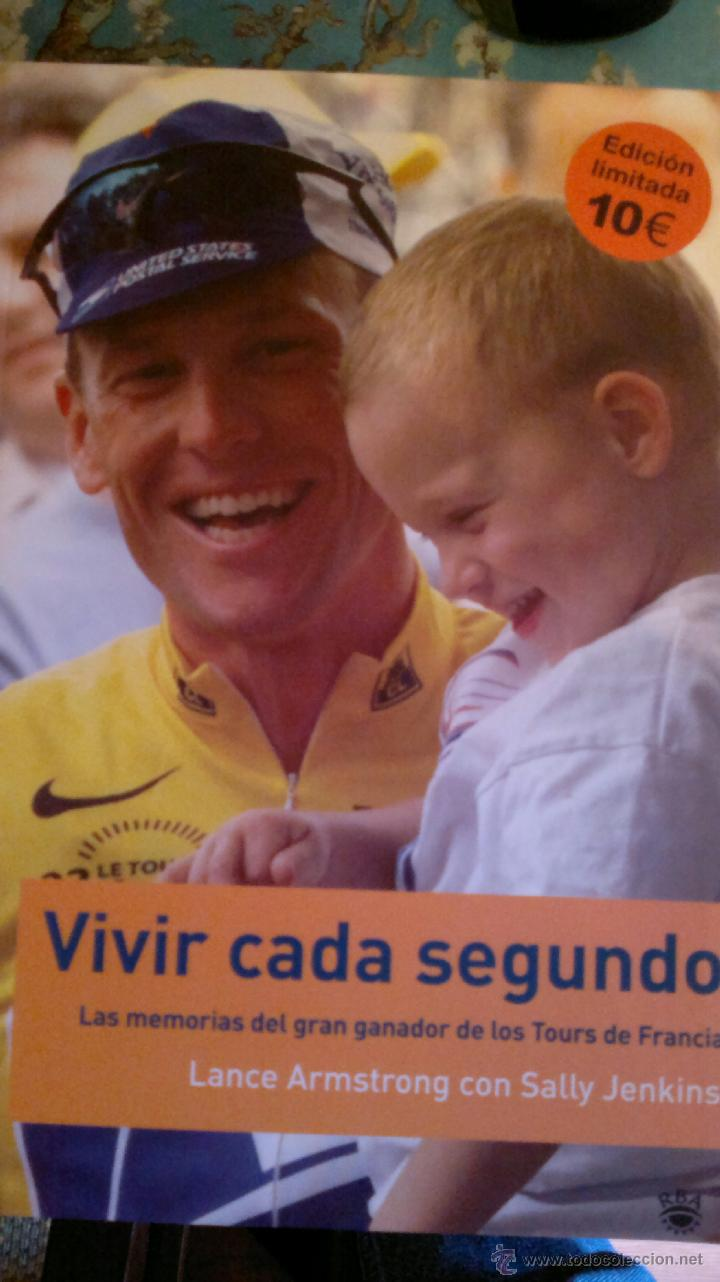 Lance Armstrong Libros Lance Armstrong Vivir Cada Segundo Sold Through Direct Sale