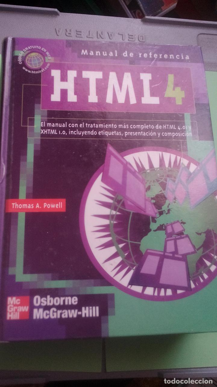 Libro Html Manual De Referencia Html 4 Thomas A Powell