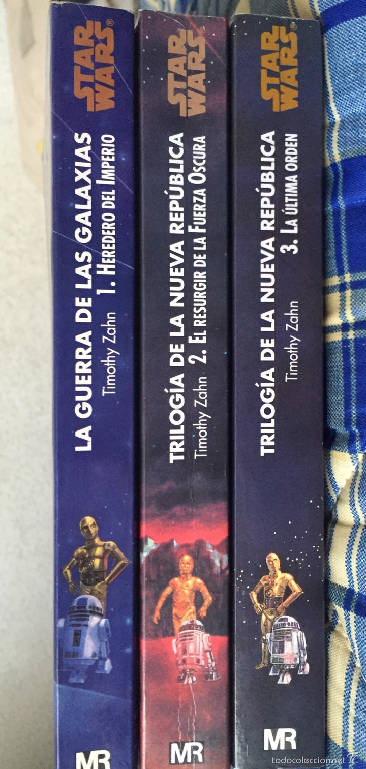 After Libros Orden Trilogía De La Nueva República Star Wars Sold Through Direct