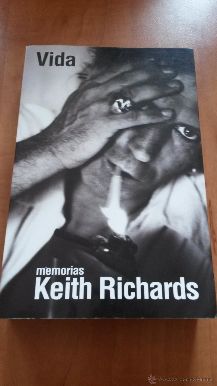 Libro De Keith Richards Vida Memorias De Keith Richards Sold Through Direct Sale