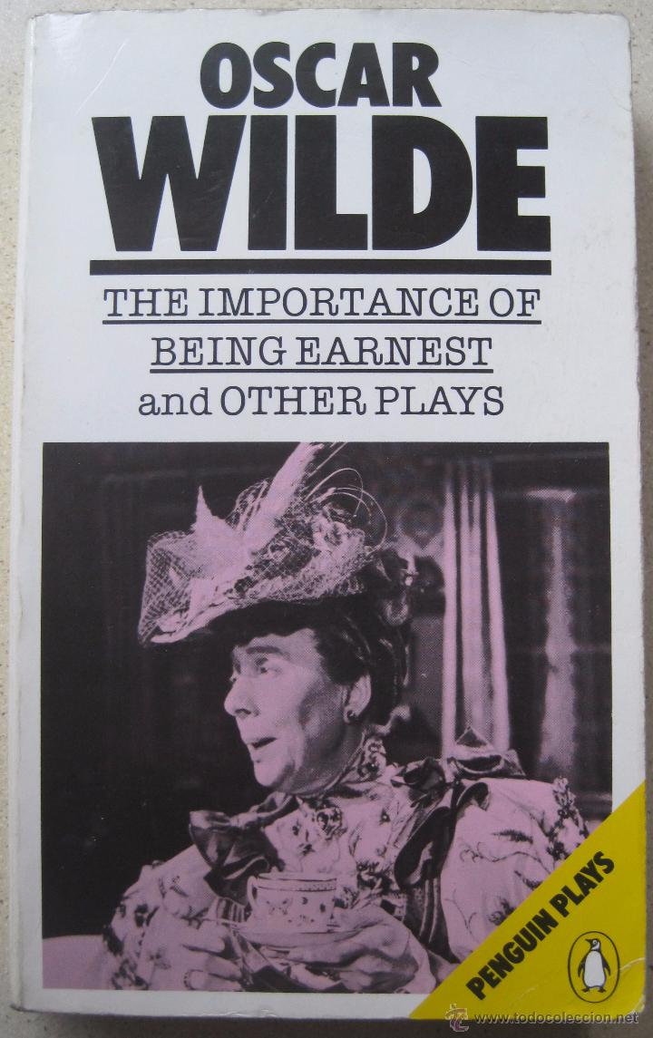Libros De Oscar Wilde The Importance Of Being Earnest And Other Plays Oscar Wilde