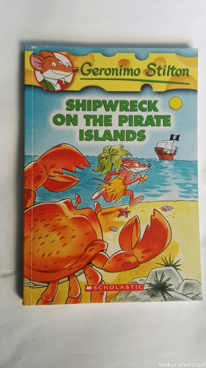 Libros De Geronimo Stilton De Segunda Mano Geronimo Stilton Shipwreck On The Pirate Islands