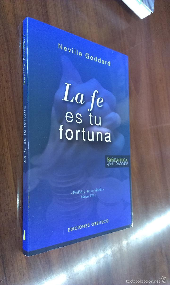 Neville Goddard Libros La Fe Es Tu Fortuna Neville Goddard Ed Obe Sold Through