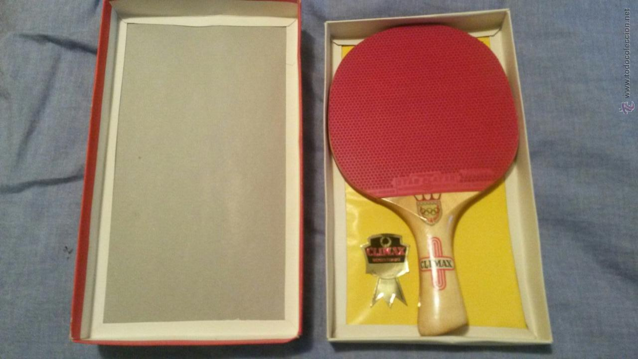 Tenis De Mesa Online Preciosa Y Perfecta Pala Ping Pong Climax Raq Sold At Auction