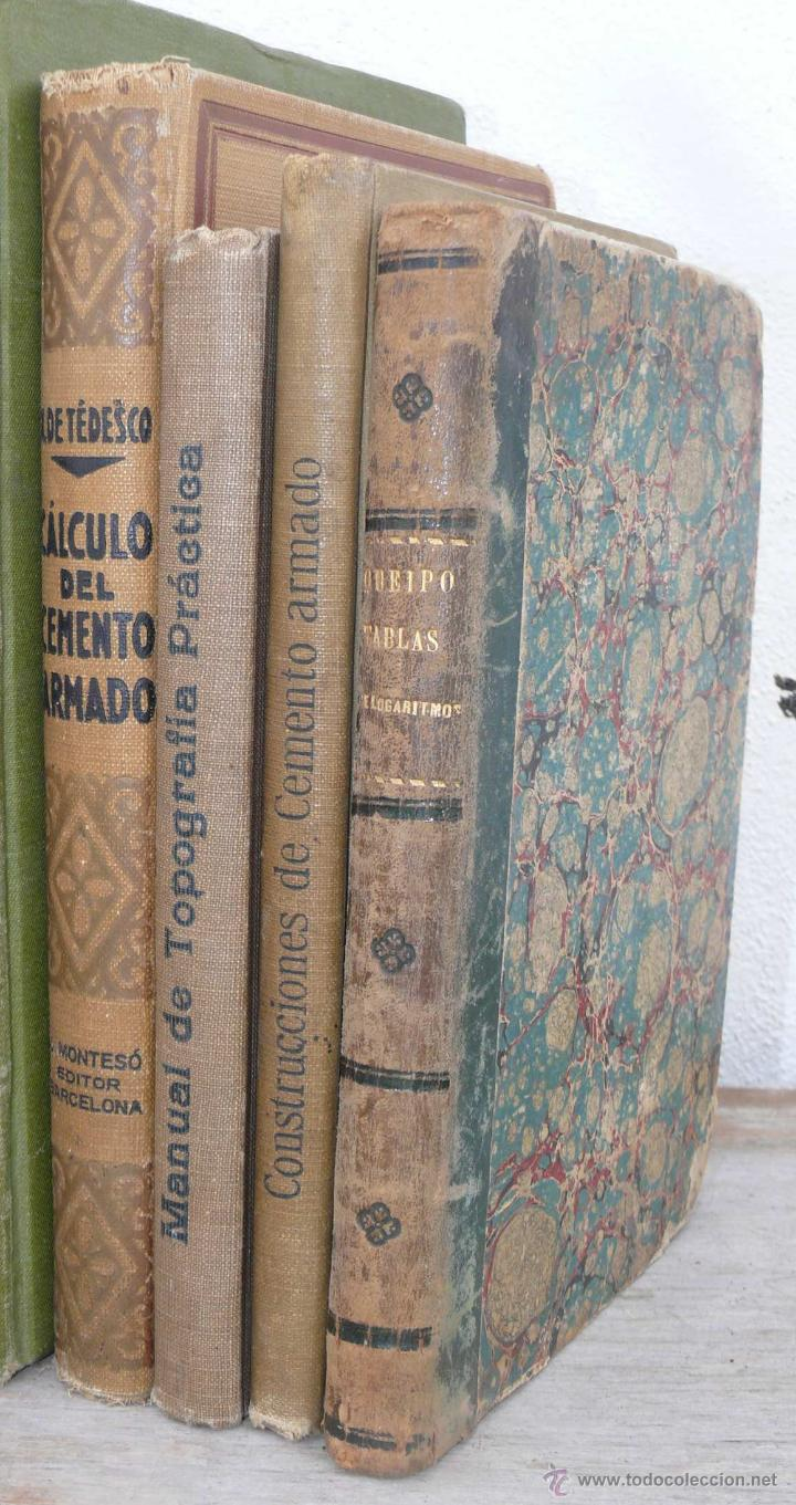 Libros De Decoracion Precioso Lote De Libros Antiguos Ideal Decoracion Despacho Arquitecto Constructor