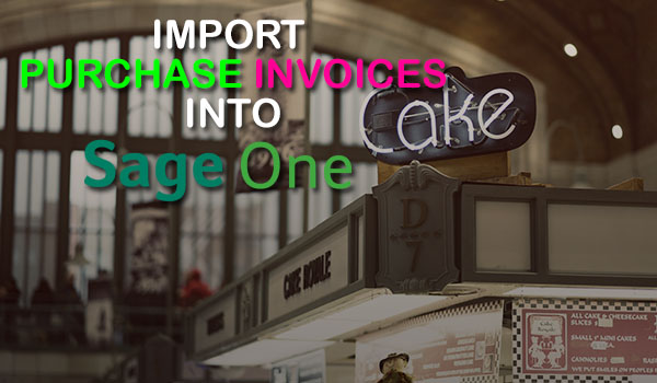 How to Import Purchase Invoices into Sage One using Business - purchase invoices