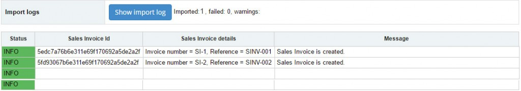 How to Import Sales Invoices into Sage One using Business Importer - sales invoices