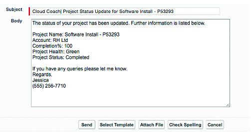 Easily Standardize Project Communications Using Salesforce Email
