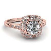 Rose Gold Ring: White Gold And Rose Gold Ring