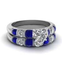 Blue Sapphire Engagement Rings | Fascinating Diamonds