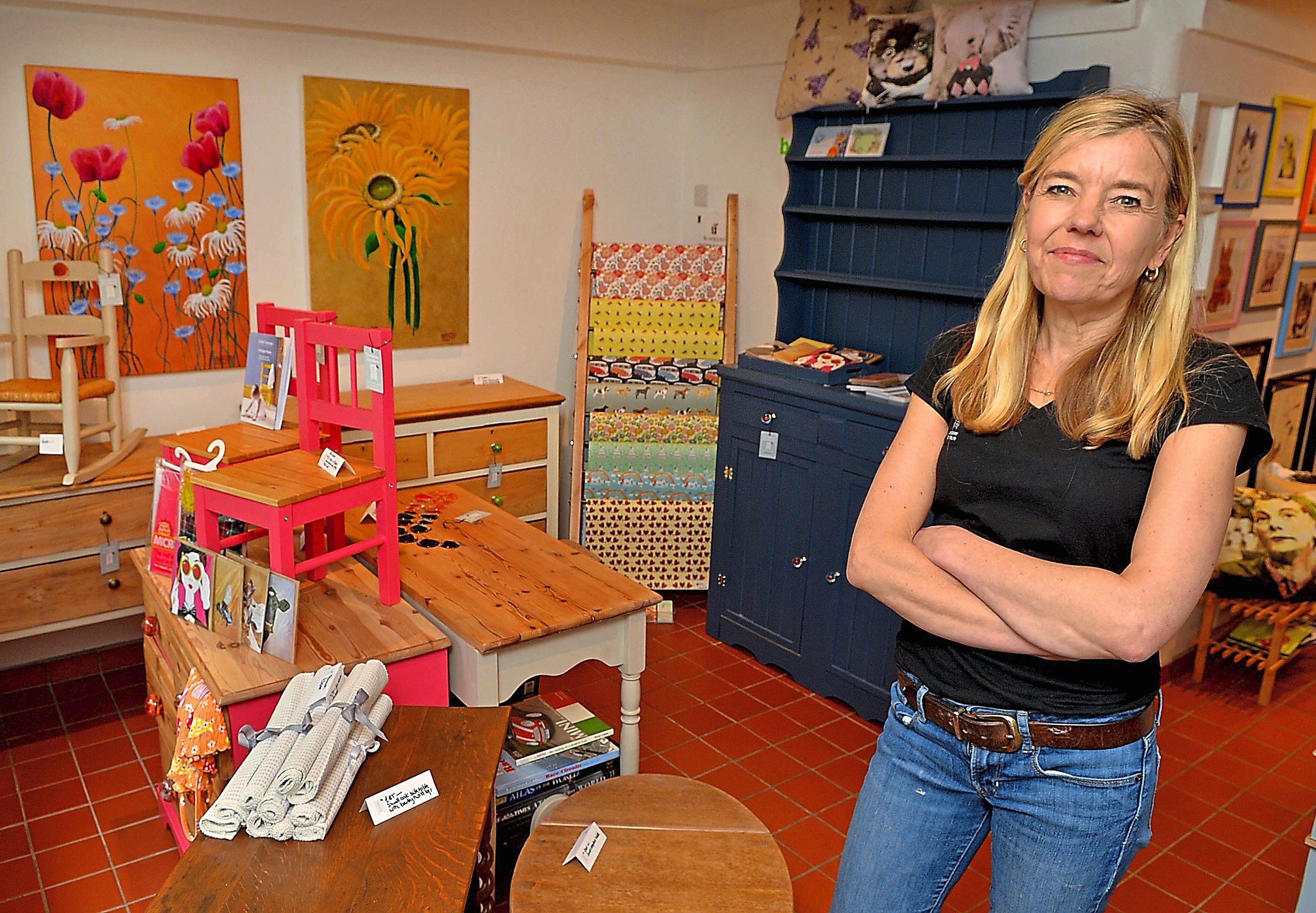 Salvaging The Unwanted Meet Vanessa Dee Who Gives Furniture A New Lease Of Life Shropshire Star