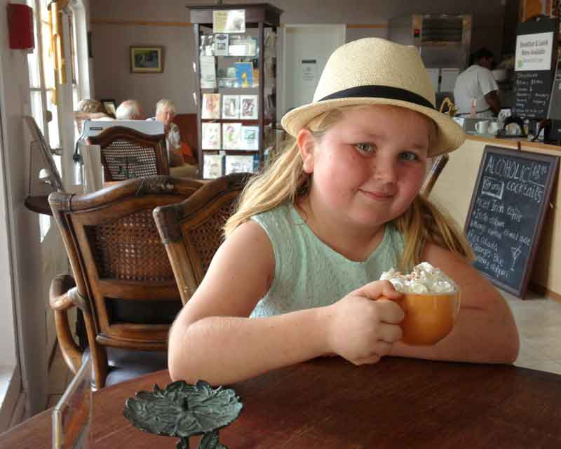 Junior Food Critic Review CV Cafe In St George - Bernews