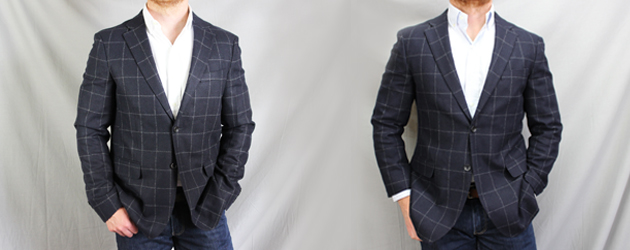 The Power Of Tailoring Before After Uniqlo Tweed Blazer