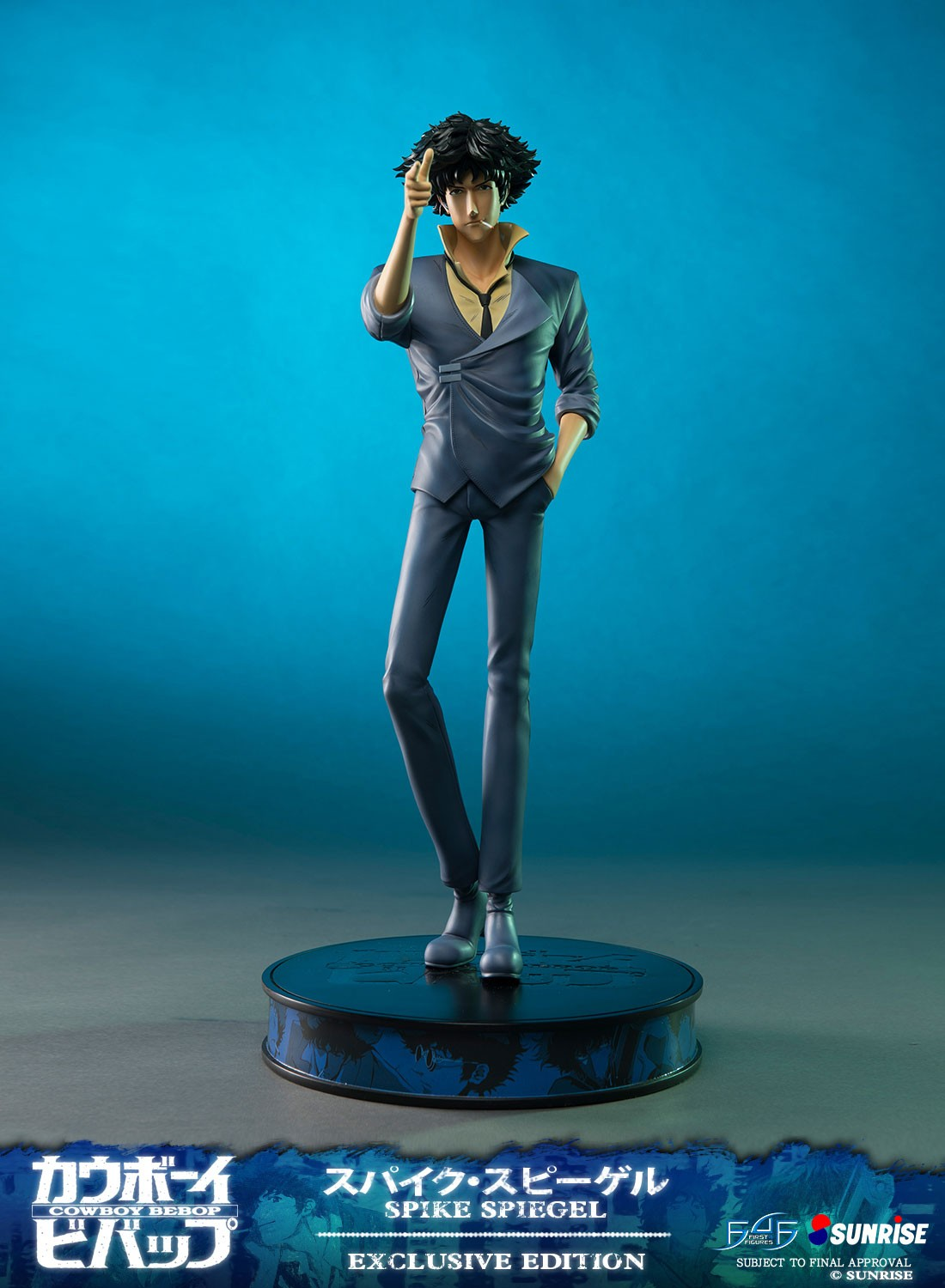 Badspiegel Jolled Spike Spiegel Exclusive