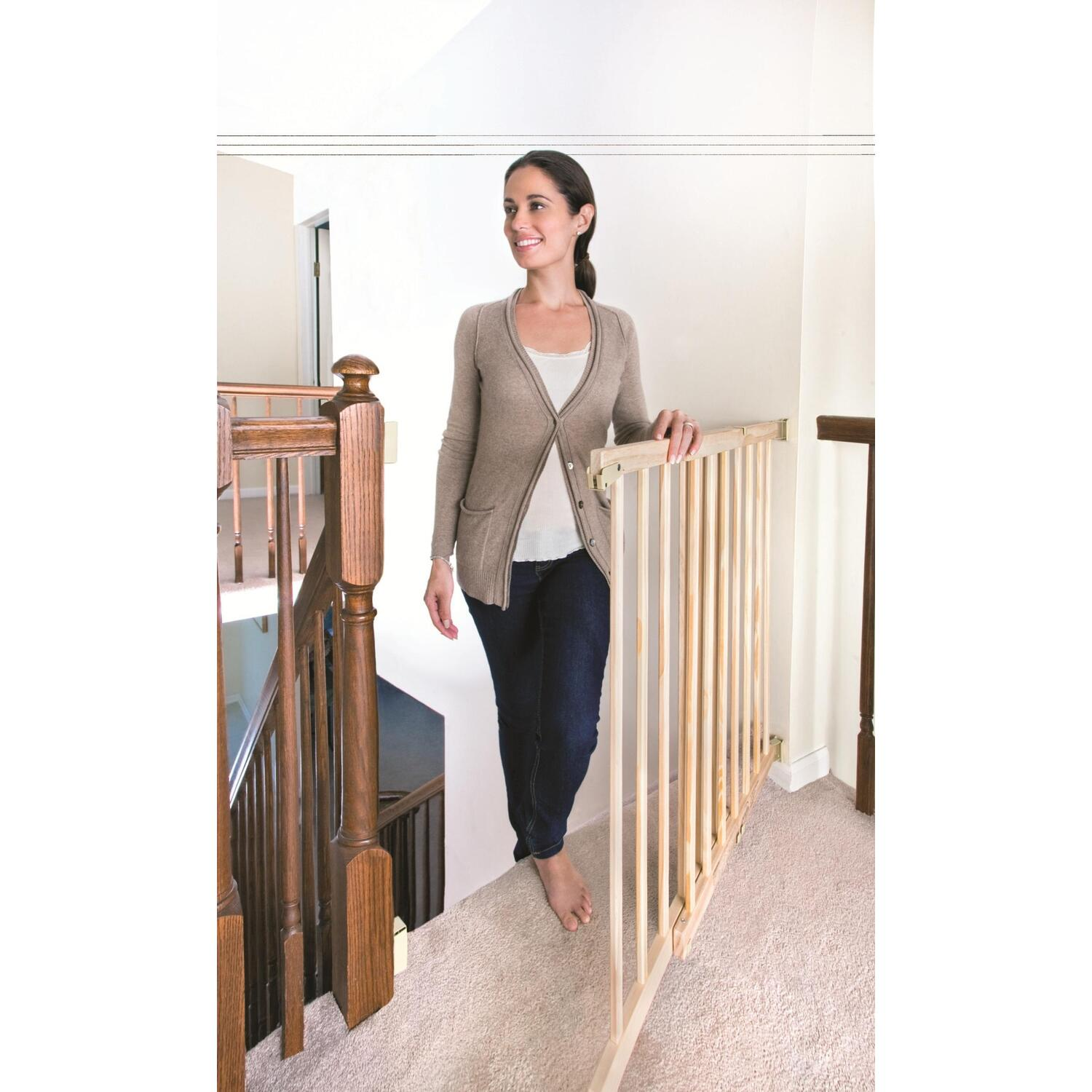 Breed Traphekje Evenflo Top Of Stair Plus Gate Extra Tall By Oj Commerce