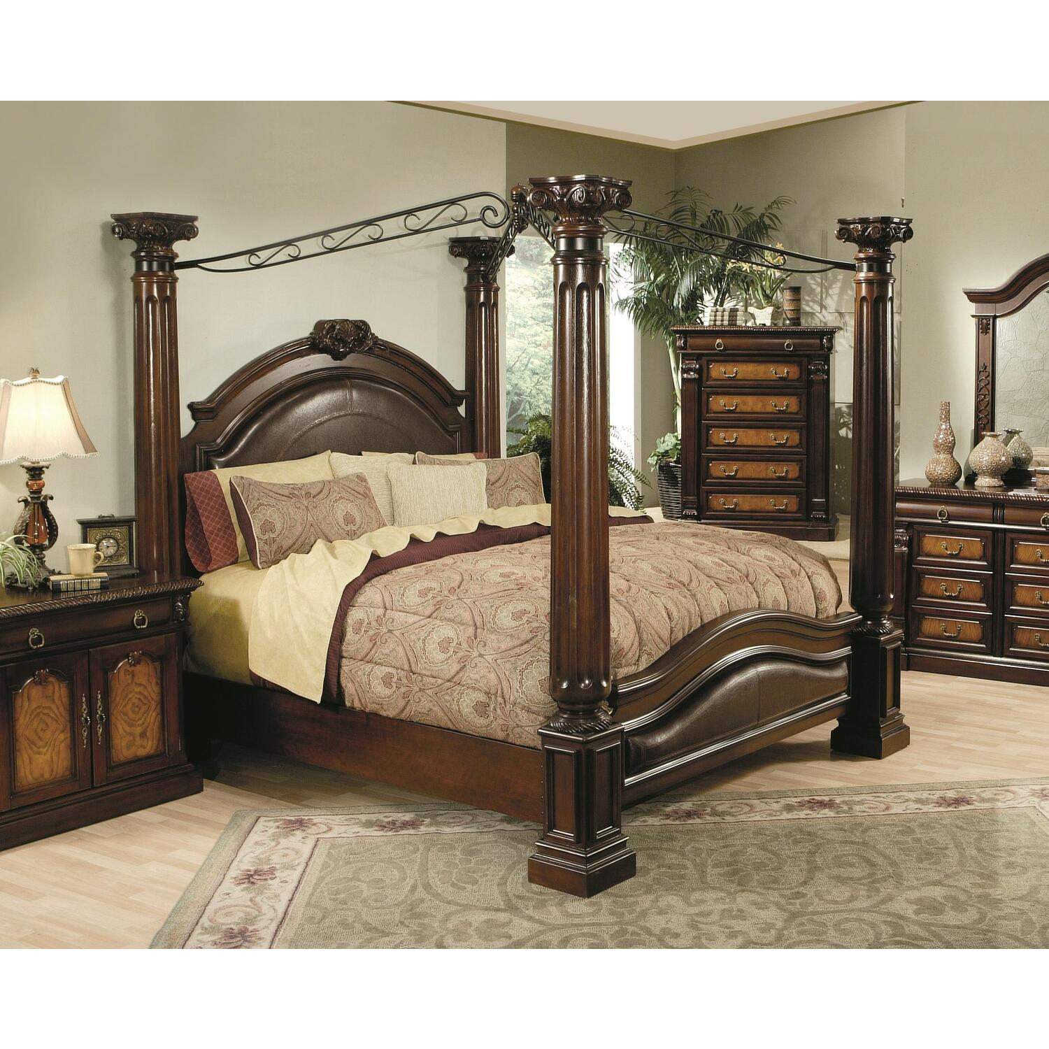 High Poster Bed King Montecito Canopy Bed From 1954 99 To 2403 99 Ojcommerce