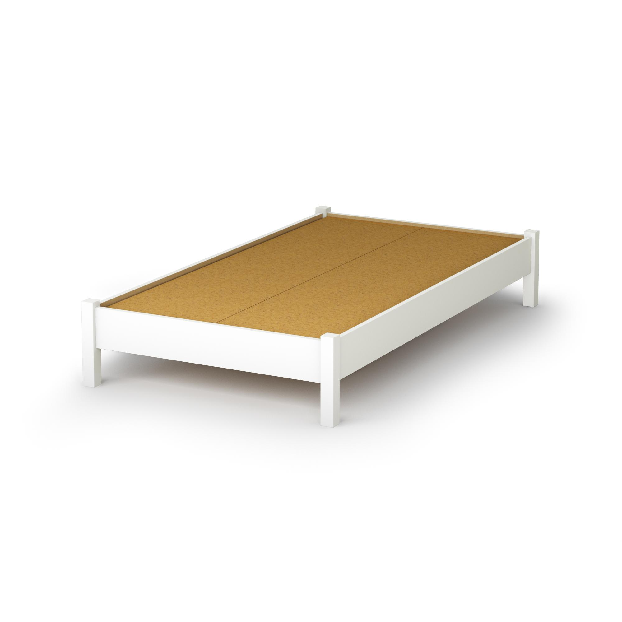 Simple Bed Platform South Shore 3050205 Step One Twin Platform Bed 39 Quot In