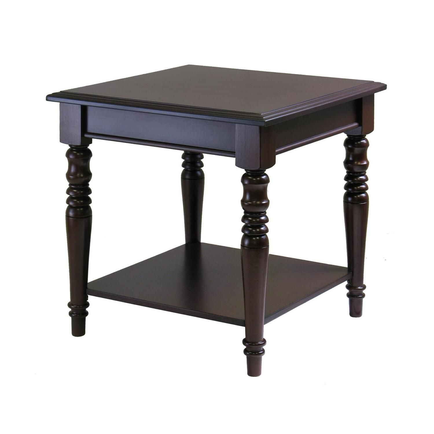 Finish Tables Whitman Square End Table Ojcommerce