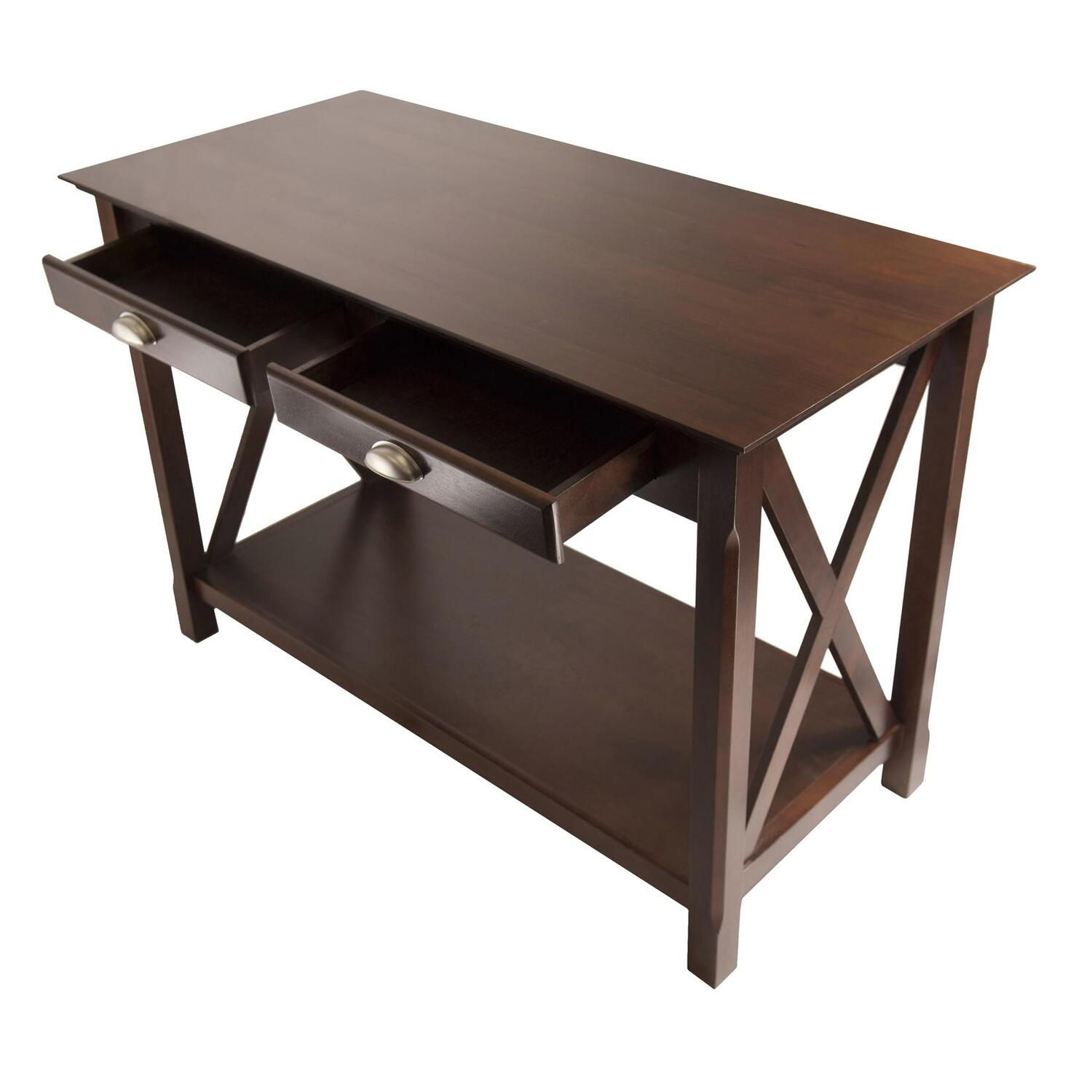 Console With Drawers Xola Console Table With 2 Drawers Ojcommerce