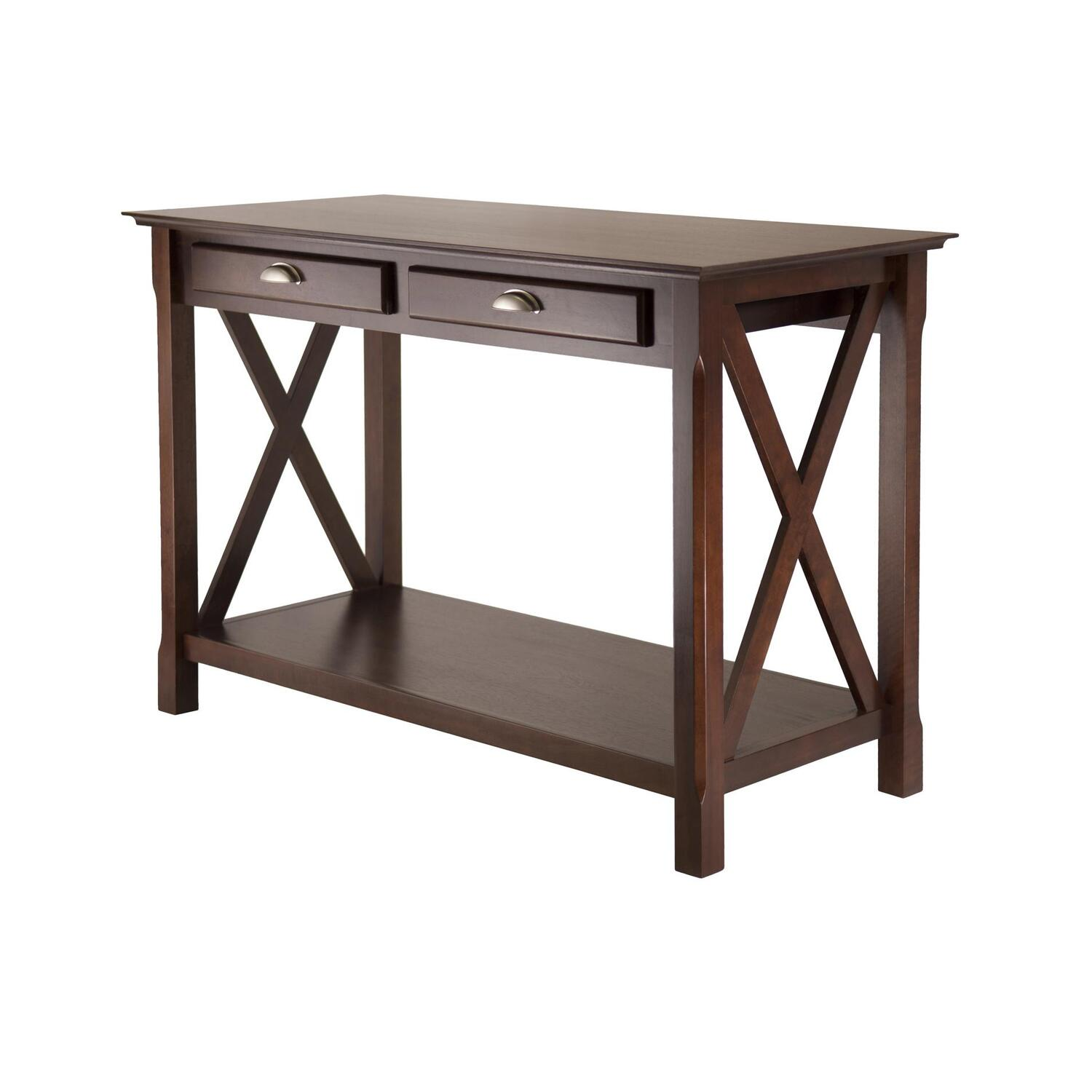 Winsome Wood Xola Console Table with 2 Drawers