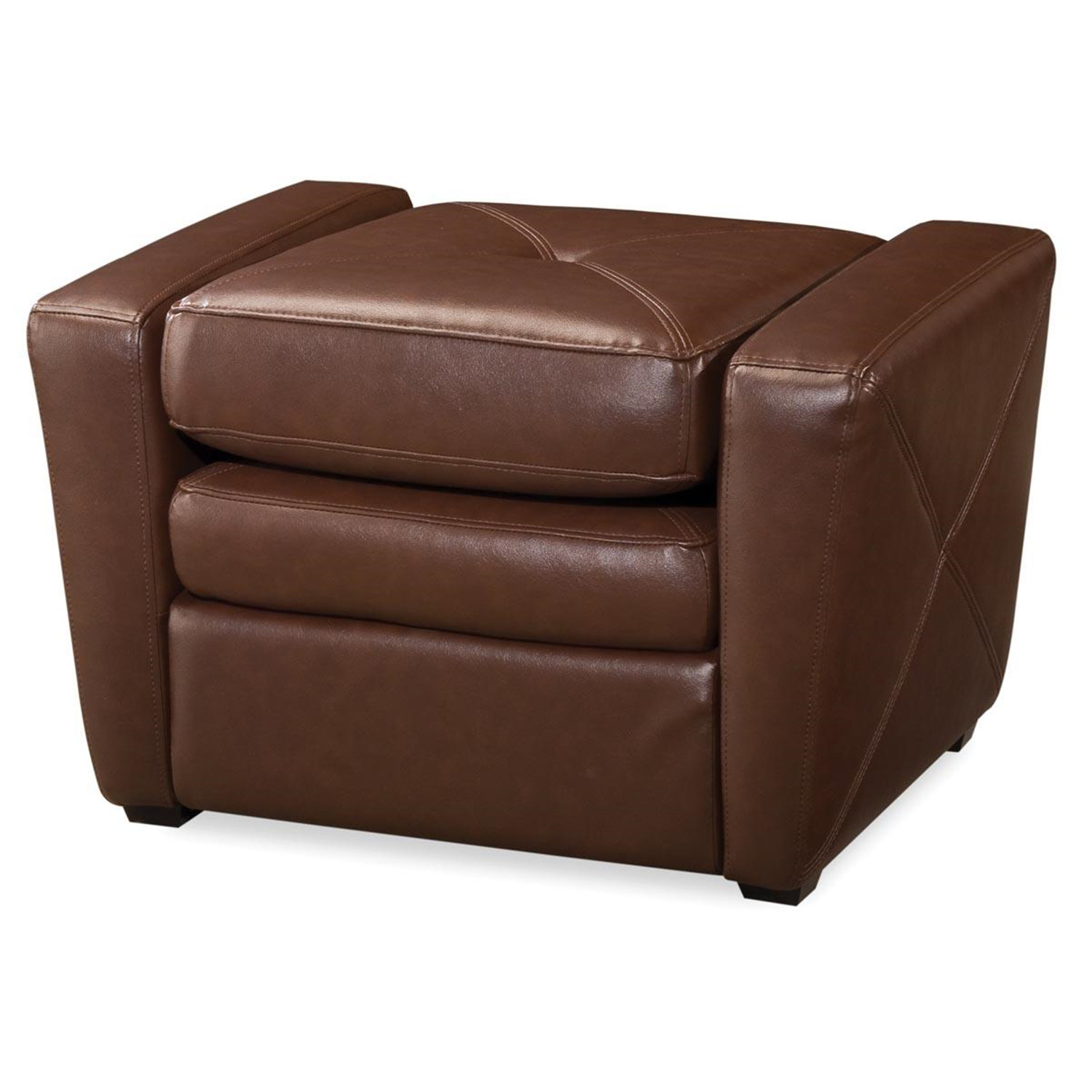 Teen Chair And Ottoman Brown Vinyl Gaming Chair And Ottoman 381 99 Ojcommerce