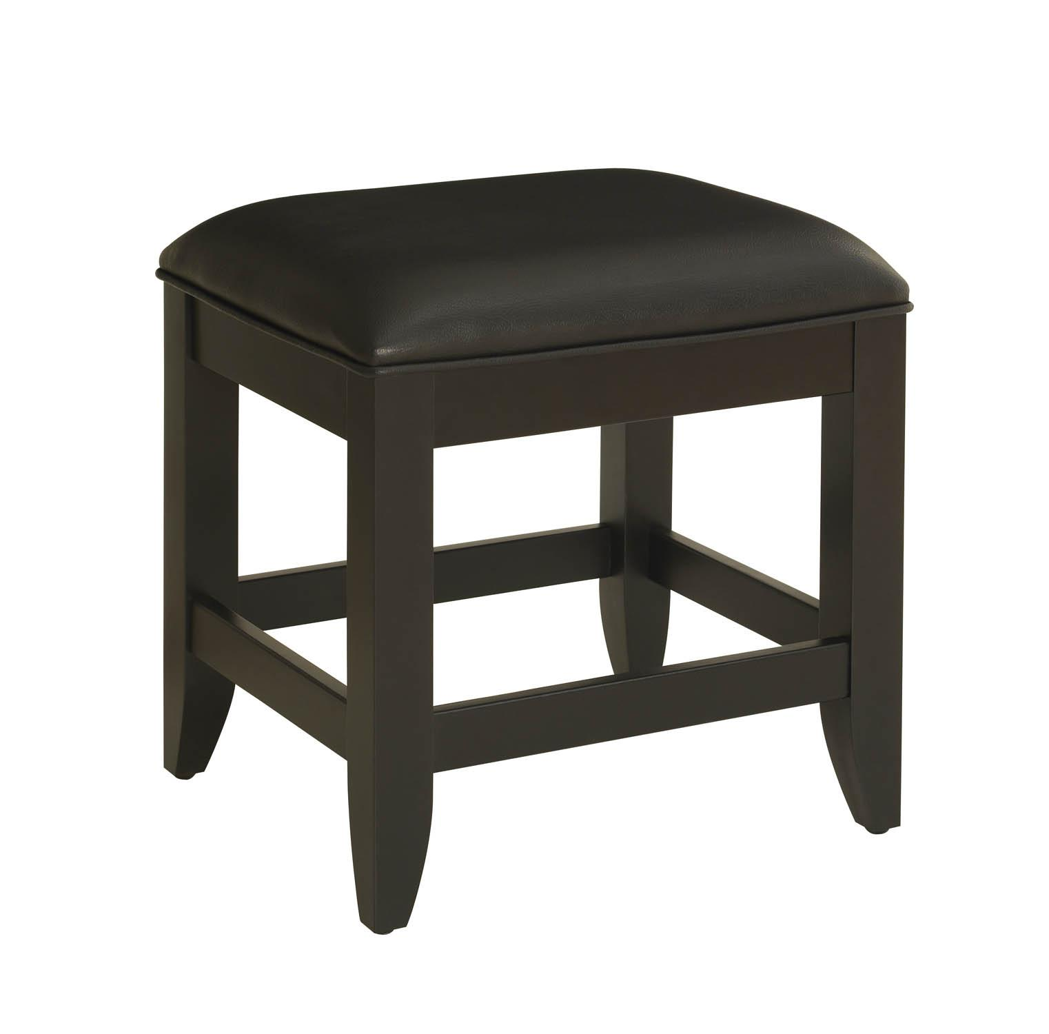 Vanity Stools Or Benches Home Styles Bedford Black Vanity Bench By Oj Commerce 5531