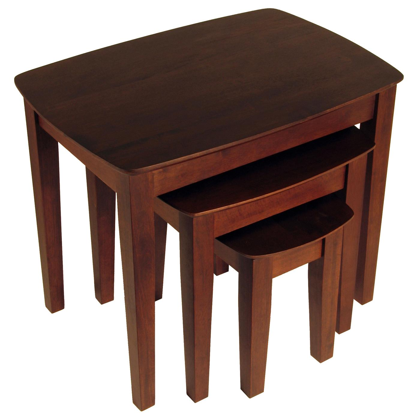 Stacking End Tables 3pc Nesting Table 113 59 Ojcommerce