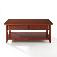 Crosley Coffee Table With Storage Drawers by OJ Commerce ...