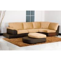 microsuede sectional sofa - 28 images - abbyson living ...