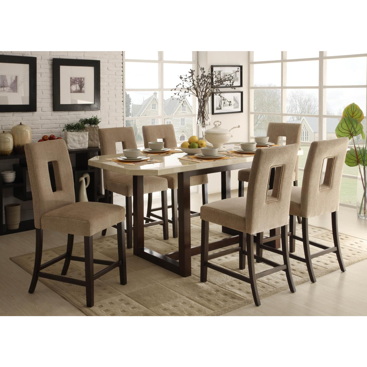36x5 Reiss Counter Height Table Set - From $1072.14 To $1344.09