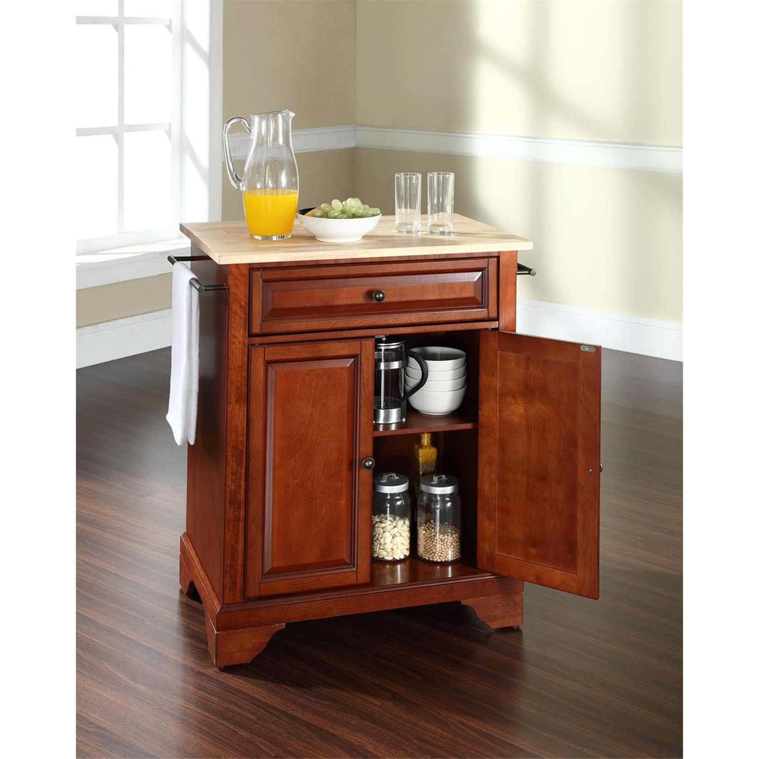 Stainless Steel Kitchen Islands Lafayette Portable Kitchen Island - From $265.00 To $398