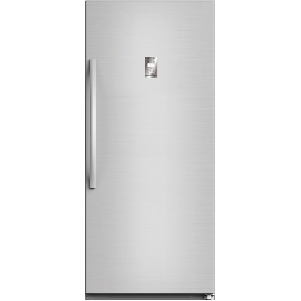 14 Cu Ft Refrigerator Midea Whs 507fwess1 14 Cu Ft Upright Convertible Freezer In Stainless Steel