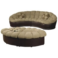 Love Seat and Ottoman Set | OJCommerce