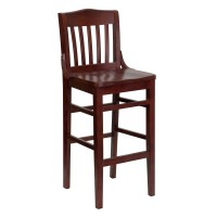 Flash Furniture HERCULES Series Mahogany Finished School ...
